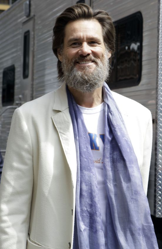 Carrey o kopalni soli Wieliczka: Chcica�bym tutaj zamieszka�