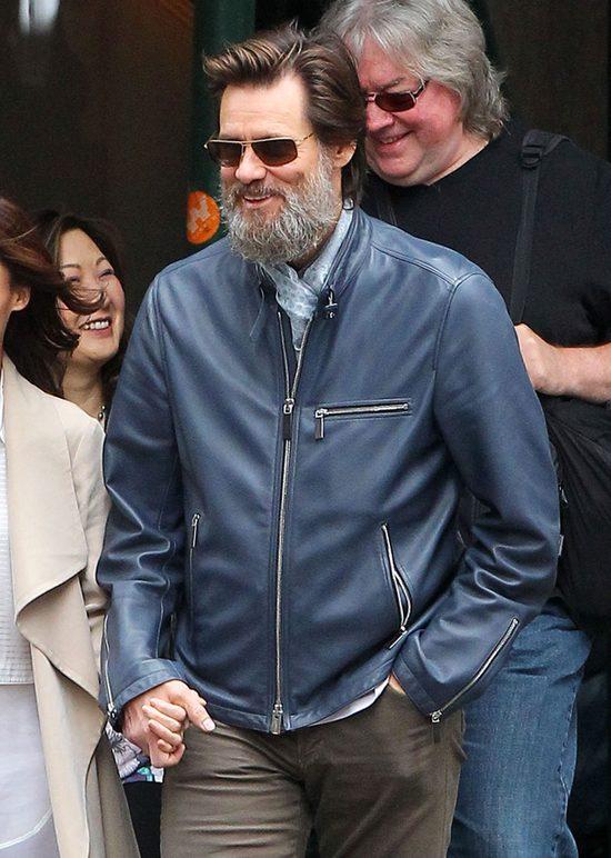 Jim Carrey niósł trumnę byłej dziewczyny [VIDEO]