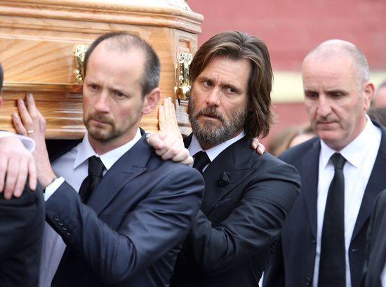 Mocne oskarżenie pod adresem Jima Carreya! Winny śmierci partnerki?