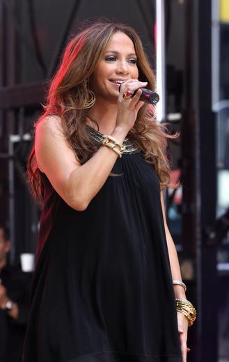 J.Lo w szale świątecznych zakupów