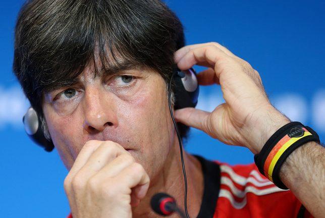 Joachim Loew komentuje swoje obrzydliwe zachowanie podczas meczu
