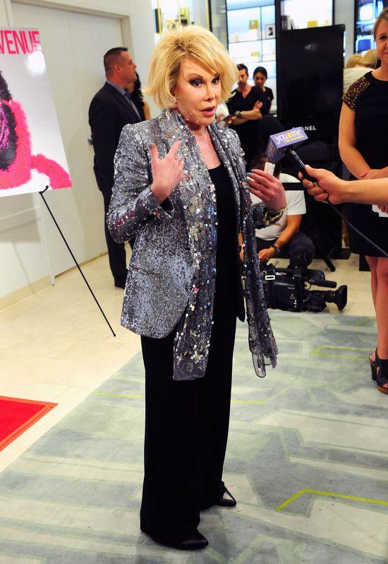 Trwa wybudzanie Joan Rivers