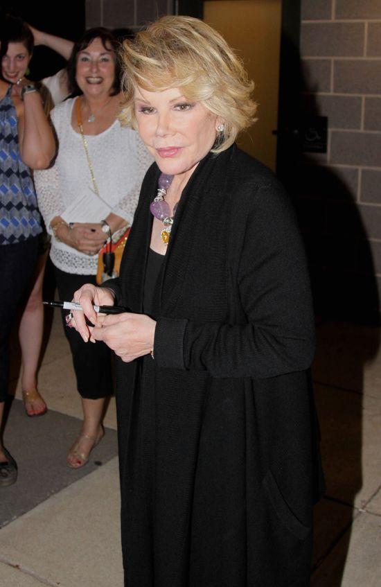 Joan Rivers przestała oddychać podczas operacji!