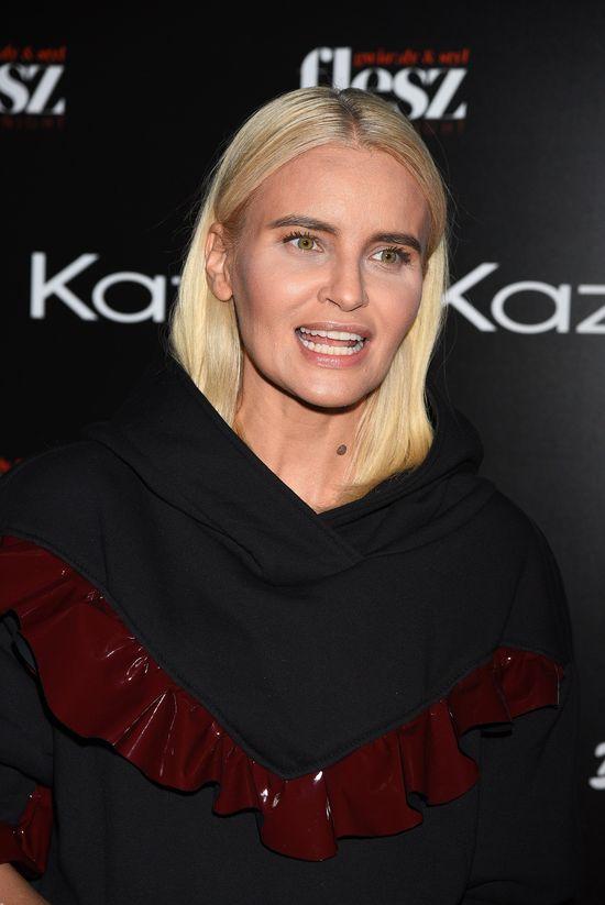 Czy Kasia Kowalska zaburzyła proporcje sylwetki w tej stylizacji?