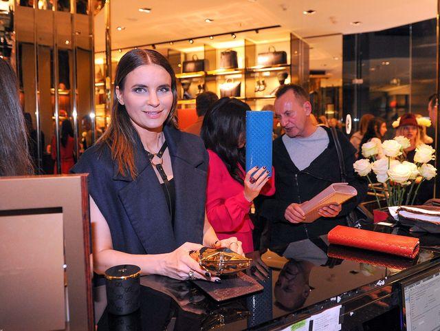 Gwiazdy na otwarciu butiku Gucci (FOTO)