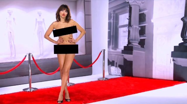 Joanna Horodyńska wystąpiła nago w telewizji (VIDEO)