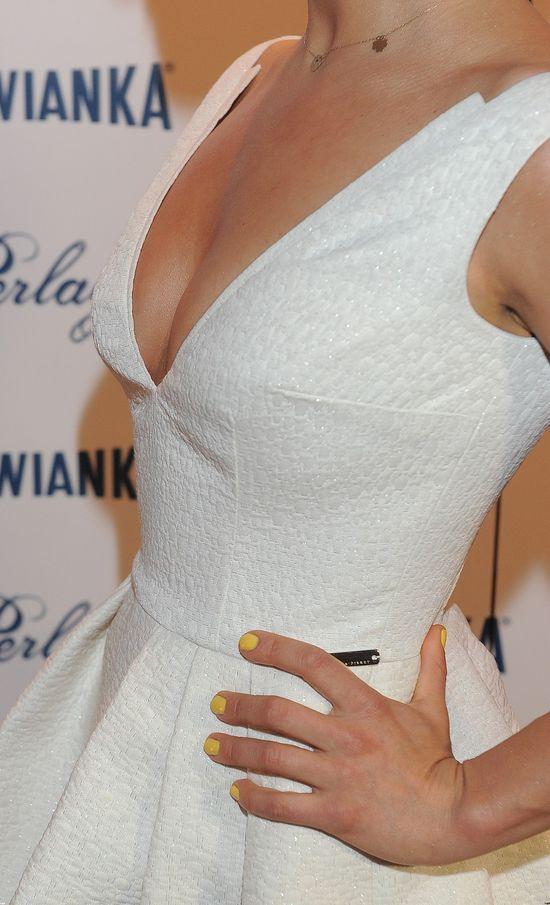 Joanna Jab�czy�ska po�wi�ca si� dla pi�kna (FOTO)