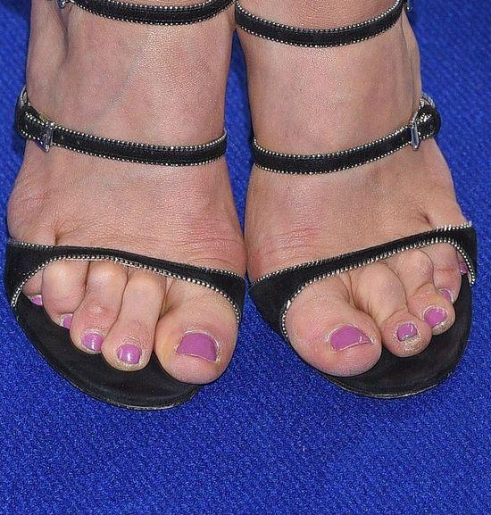 O jej stopach też będzie głośno? (FOTO)