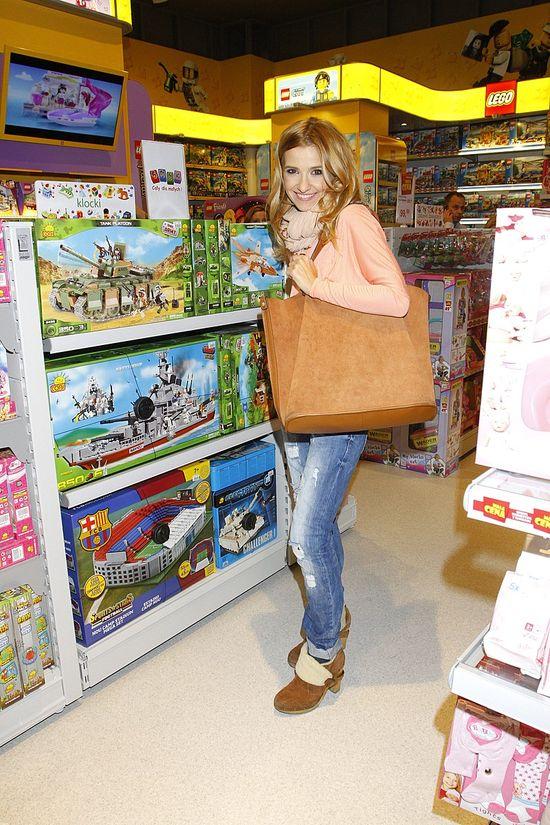 Gwiazdy na otwarciu sklepu z zabawkami (FOTO)