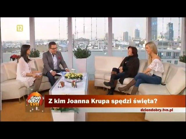 Dżoana Krupa nie wymienia się w święta prezentami (VIDEO)