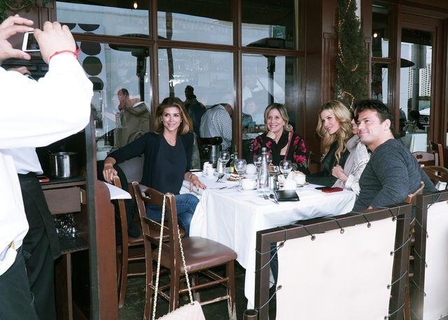 Joanna Krupa z Persk� Barbie na lunchu (FOTO)