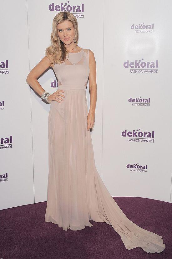 Joanna Krupa na gali Dekoral Fashion Awards