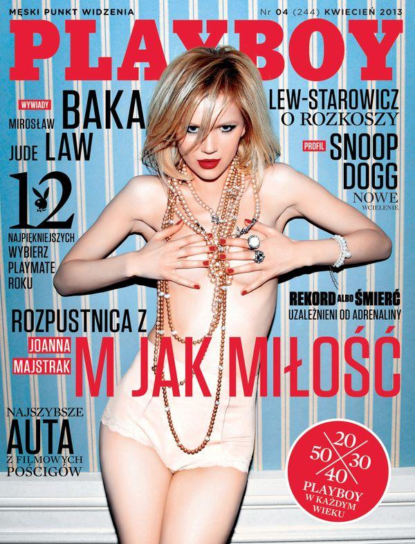 Joanna Majstrak na ok�adce kwietniowego Playboya (FOTO)