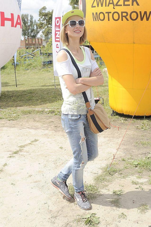 Joanna Moro już odsapnęła po prorażce (FOTO)