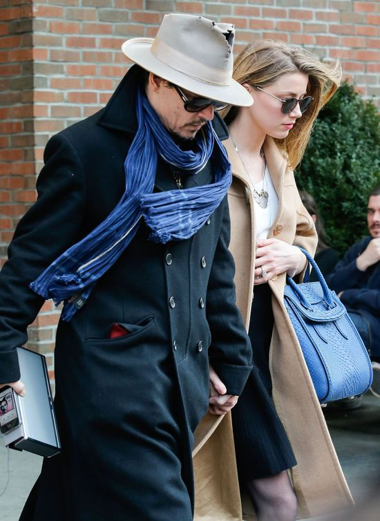 Amber Heard i Johnny Depp b�d� mieli dziecko!