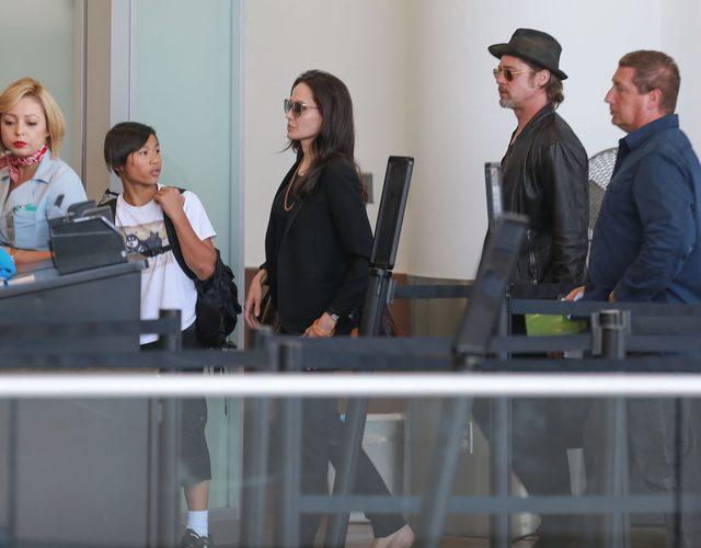 Pax Jolie Pitt miał wypadek