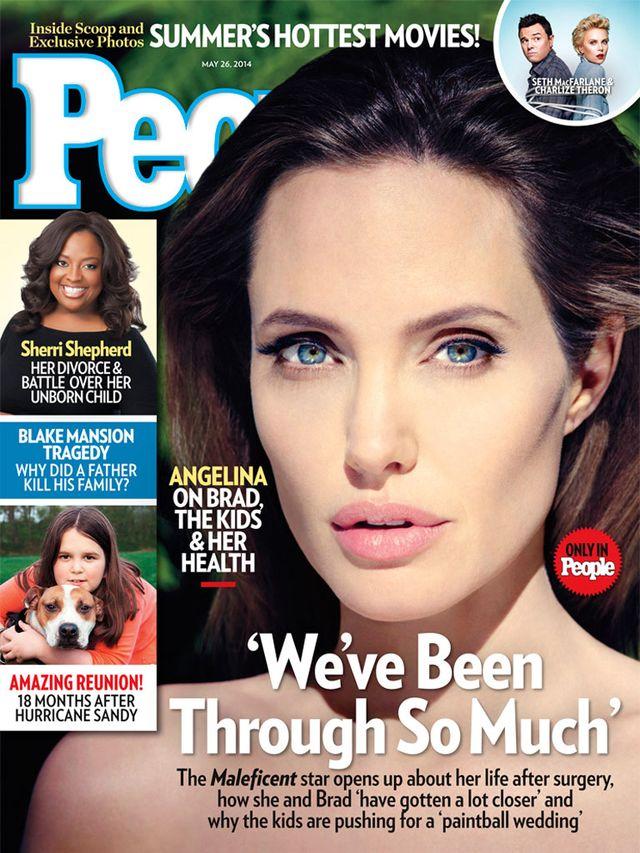 Wiemy, dlaczego Angelina Jolie zaliczy�a makija�ow� wpadk�