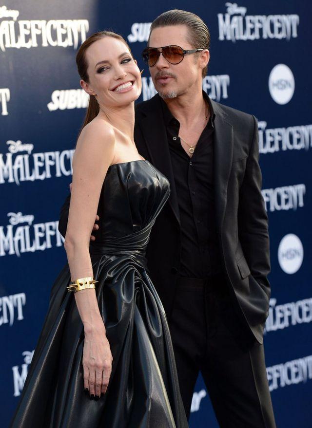 Na tej linii dochodzi do spięć między Angeliną i Pittem