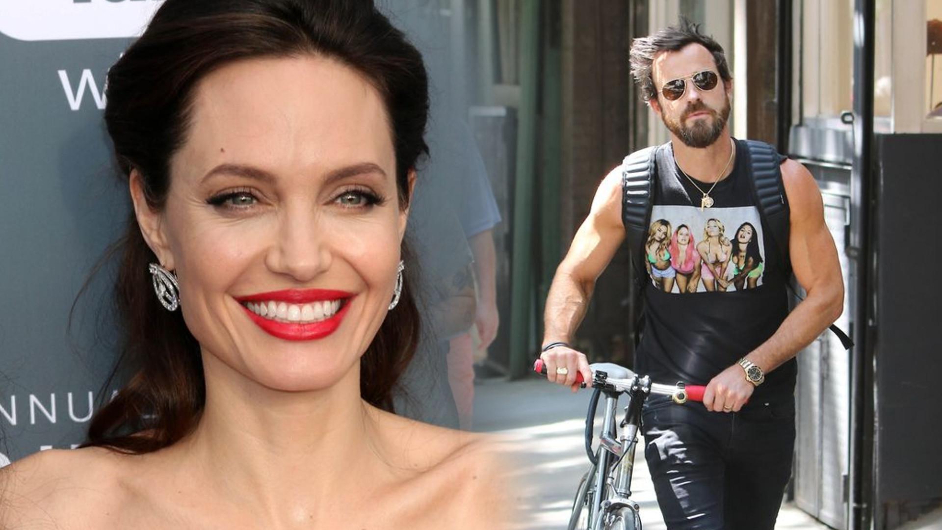 Angelina Jolie i Justin Theroux RAZEM na wakacjach – opublikowano ich zdjęcie