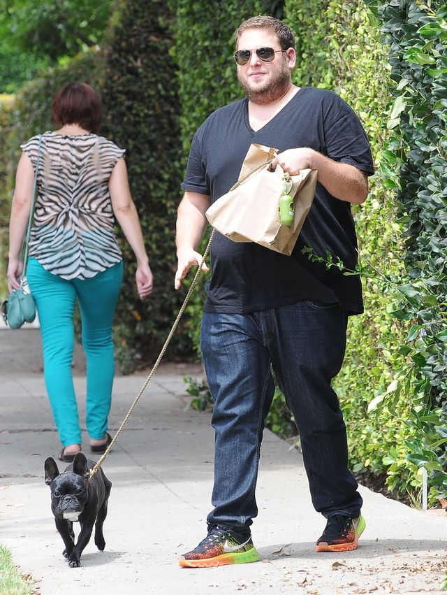 Jonah Hill przyty� 30 kilogram�w (FOTO)