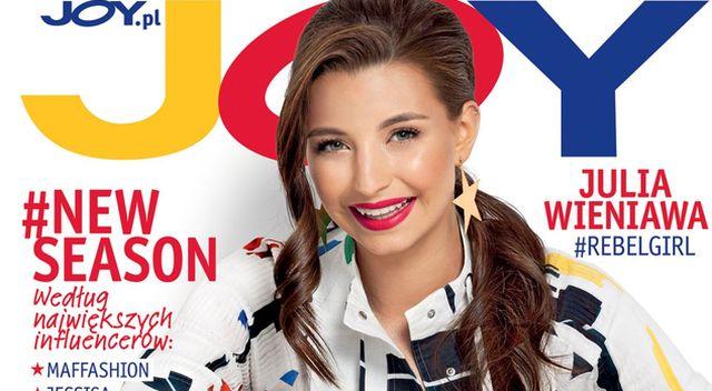 Julia Wieniawa w nowym magazynie JOY