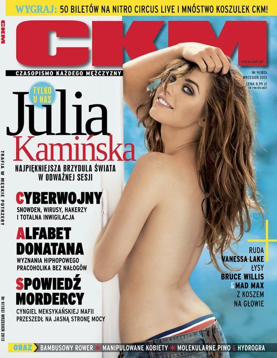 Julia Kamińska w wrześniowym CKM-ie (FOTO)