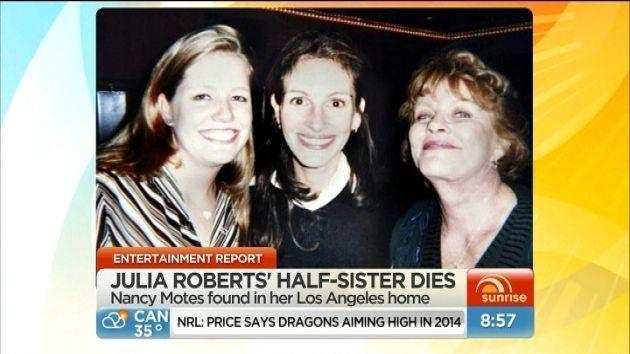 Julia Roberts oskarżana o śmierć przyrodniej siostry