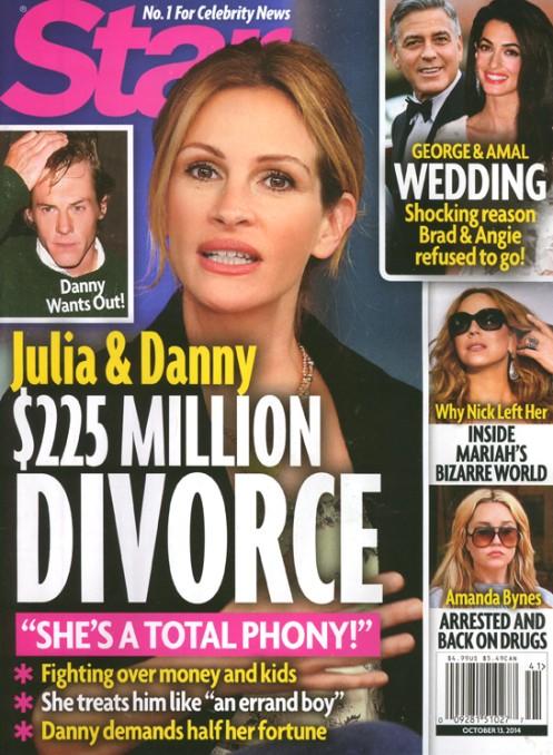 Julia Roberts w trakcie rozwodu?