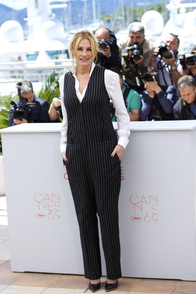 WOW! Pi�kna Julia Roberts po raz pierwszy w Cannes (FOTO)