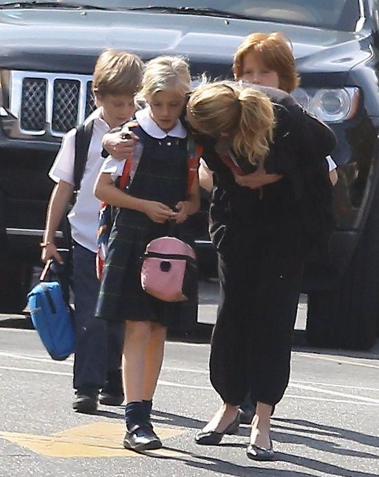 Julia Roberts przyłapana z dzieciakami (FOTO)
