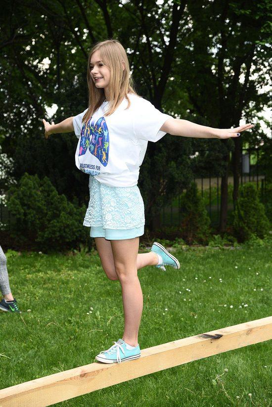 Julia Wróblewska korzysta z wolności (FOTO)