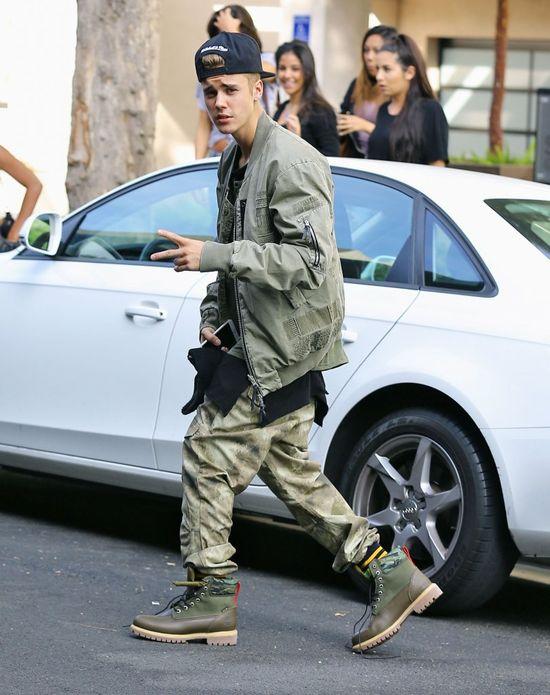 Karygodne zachowanie Biebera podczas Święta Dziękczynienia