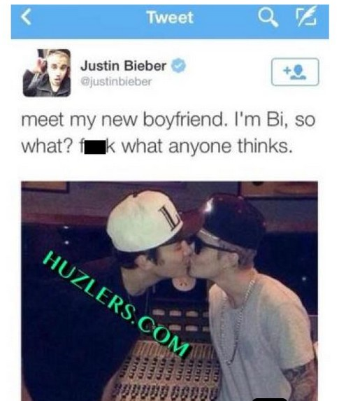 Justin Bieber całuje Austina Mohone! Z JĘZYCZKIEM!