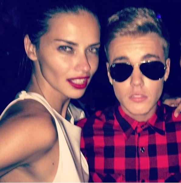 Justin Bieber i Adriana Lima RAZEM?! (FOTO)