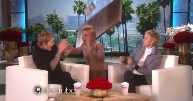 Ellen DeGeneres nieźle wrobiła Justina Biebera (VIDEO)