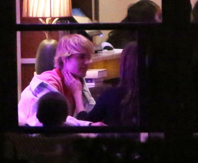 Ekskluzywne zdjęcia - Selena i Justin na walentynkowej randce