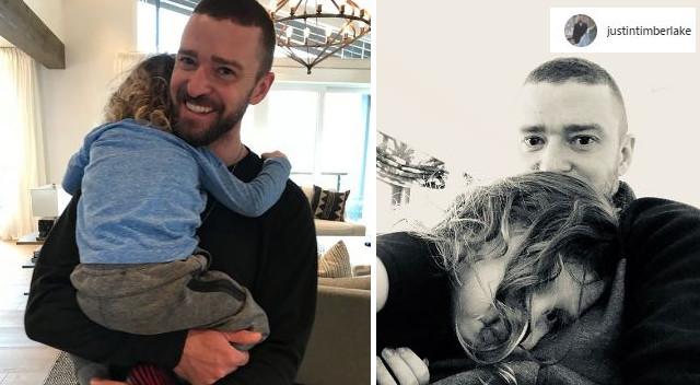 Justin Timberlake rzadko to robi – w dniu ojca zrobił wyjątek