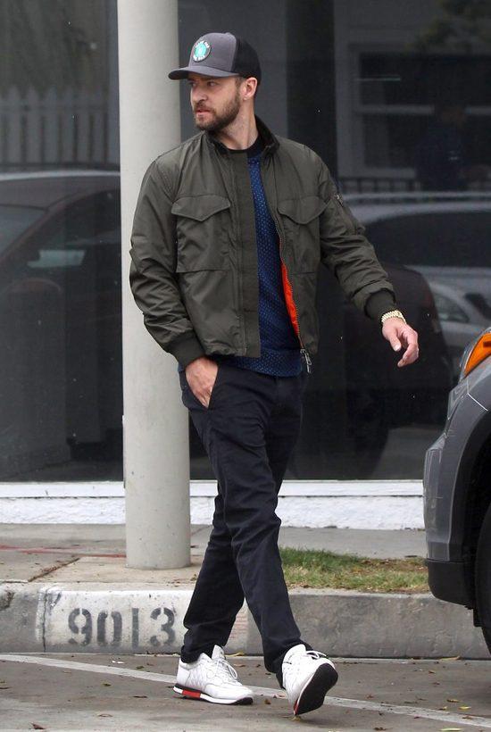 Justin Timberlake dosta� W TWARZ od fana