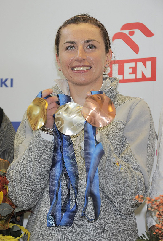 Justyna Kowalczyk oddała BMW śmiertelnie chorym dzieciom