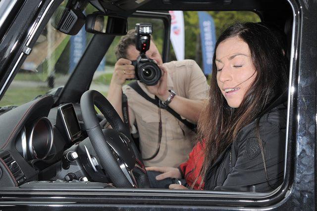 Justyna Kowalczyk: Policja zabra�a spod domu moich rodzic�w oszo�oma