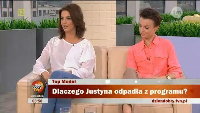 Dlaczego Justyna odpadła z Top Model