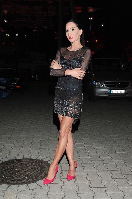 Tym razem nogi Justyny Steczkowskiej zostały w tyle (FOTO)