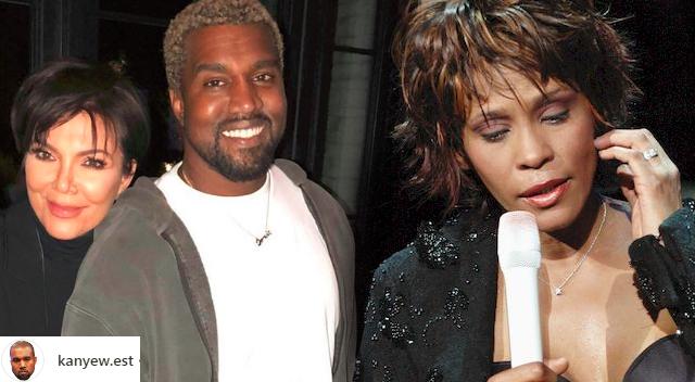 Kanye bezcześci pamięć Whitney Houston! Chce zrobić TO!