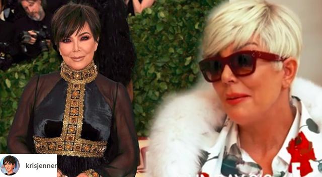 Dramat! Kris Jenner na Met Gali udawała… STRUSIA i łazienkowy dywan!