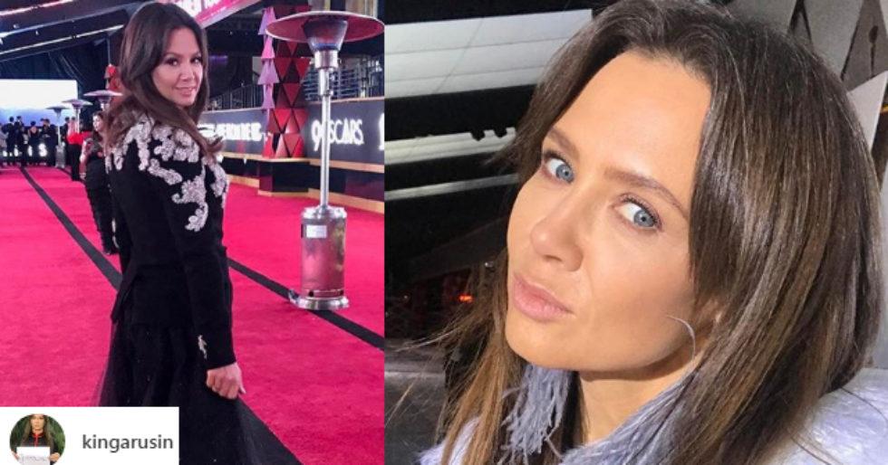 Kinga Rusin Pokazała Zdjęcia Z Czerwonego Dywanu Oscarów