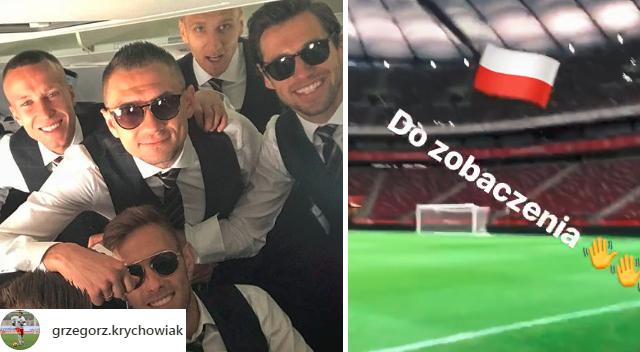 Polscy piłkarze wylecieli do Rosji! Zobaczcie, jak bawią się przed Mundialem