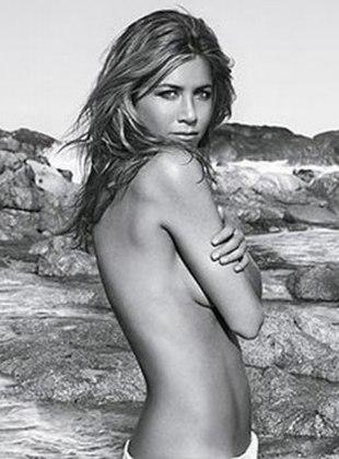 Jennifer Aniston rozbierze się na planie filmowym