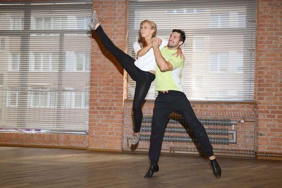 Agnieszka Kaczoroska tańczy i chudnie (FOTO)
