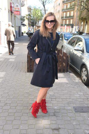 Agnieszka Kaczorowska zaszalała z butami (FOTO)