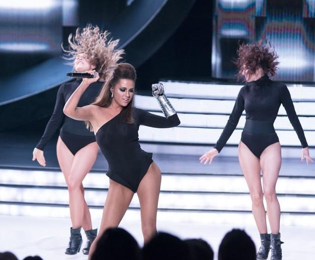 Kaja Paschalska jako Beyonce w Twoja Twarz Brzmi Znajomo
